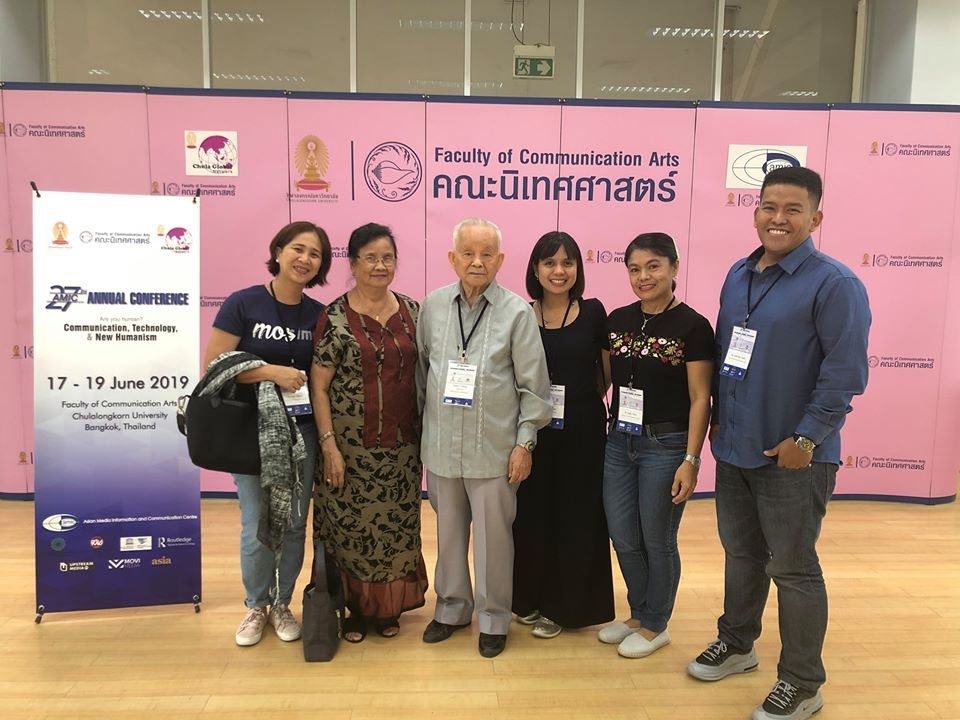 LPU-LAGUNA TAKES THE INTERNATIONAL STAGE: AMIC Annual Conference at Bangkok, Thailand