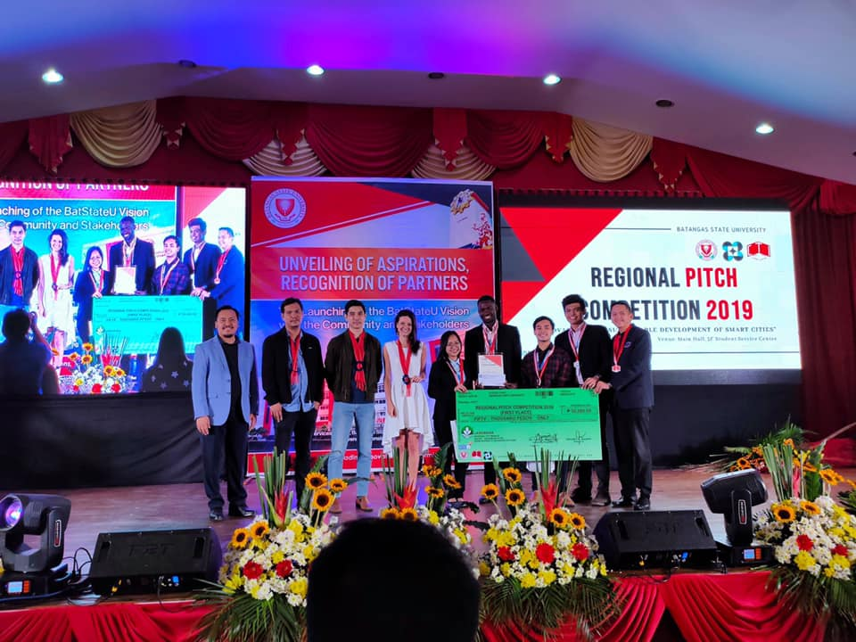Congratulations to LPU Laguna Team: Top 1 in the Regional Pitching Competition held today at Batangas State University!